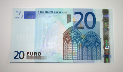 20 euro bank note