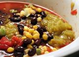 black bean mexican soup poster