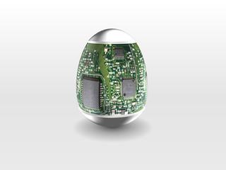 hight technology easter eggs