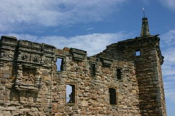 st. andrews castle, schottland