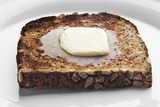 melting butter on toast poster