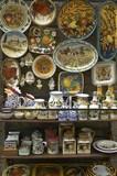 majolica ceramics. poster