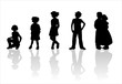 children's silhouettes - 3