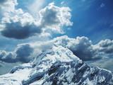 high cordilleras mountain poster