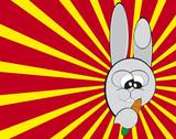 clipart coniglio poster
