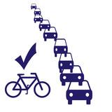 bike commute poster