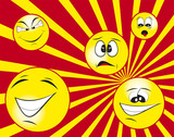 clipart smile poster