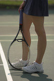 female tennis players legs poster