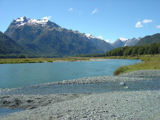 picturesque picnic spot - fiordland national park