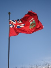manitoba flag in winnipeg