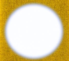 yellow cloth frame