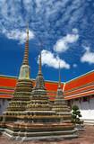 triple pagoda poster