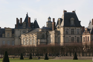 in fontainebleau