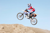 extreme motocross sports poster