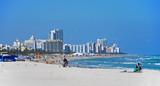 general view of miami beach, florida poster