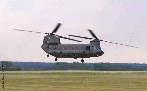 Canvas Helicopter ch-47 chinook