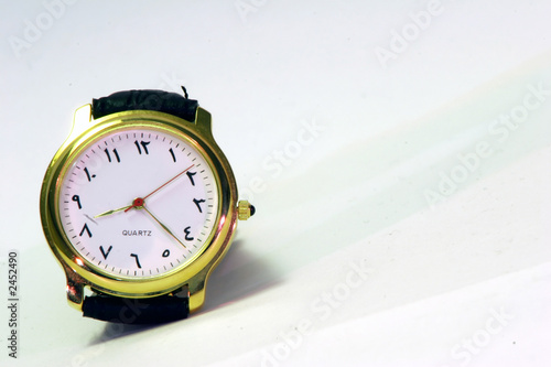 Wrist Watch Quotes Arabic Wrist Watch Stock