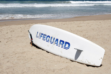 lifeguard rescue surfboard
