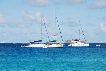 segelboote in der karibik