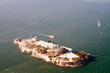 aerial view of alcatraz