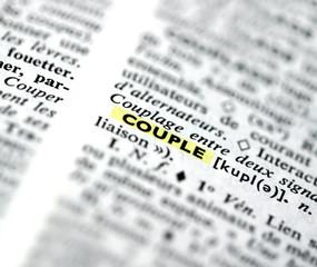 """définition de """"couple"""" dans un dictionnaire"""