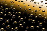 droplets on metal surface poster