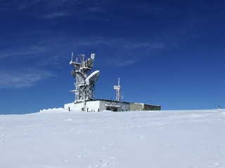 frozen radio-locator