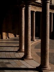 patio circular,palacio carlos v-la alhambra