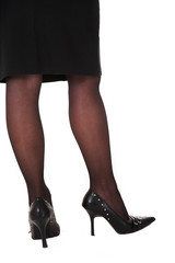 sexy legs of a businesswoman