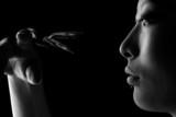 Fototapeta dorosły - kobieta - Pająk