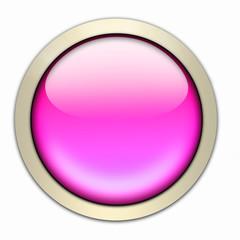 glasbutton in pink