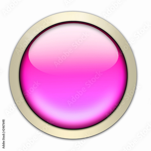glasbutton in pink