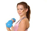 health and fitness girl 1 poster