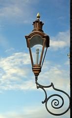 old dutch lantern in amsterdam