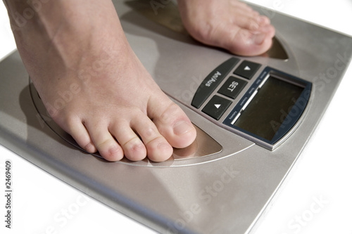 woman on the weight 7
