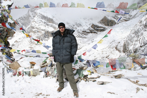 kala patthar summit - nepal