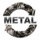 metal recycling poster