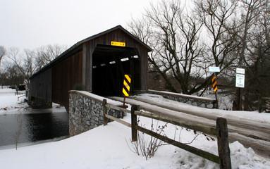 pont couvert  amish