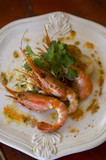 gourmet prawns poster