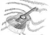 guitare stylisée
