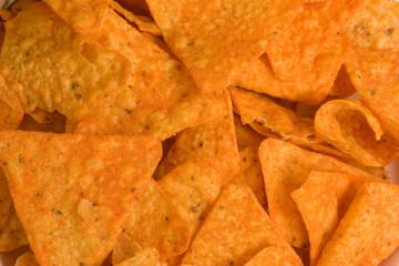 corn chips background