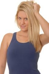 lovely blond girl 39