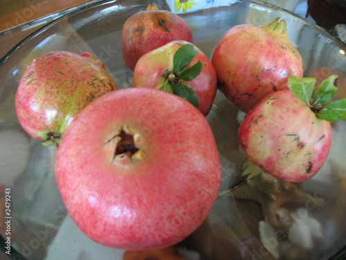 pomegranate apple