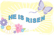 he is risen illustration