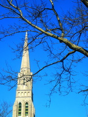 new england church spire