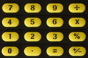 clavier numerique calculatrice