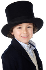 adorable child with hat