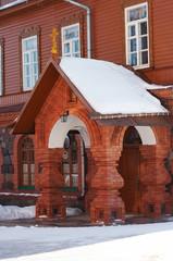 house in women monastery in estonia