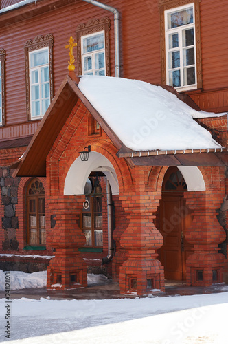house in women monastery in estonia