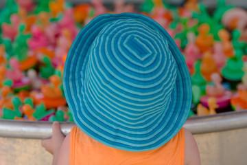girl at the fair